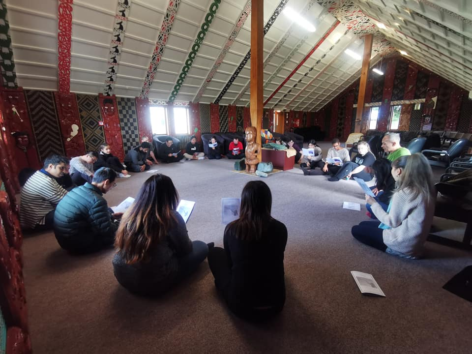 Marae visit for Southland international students