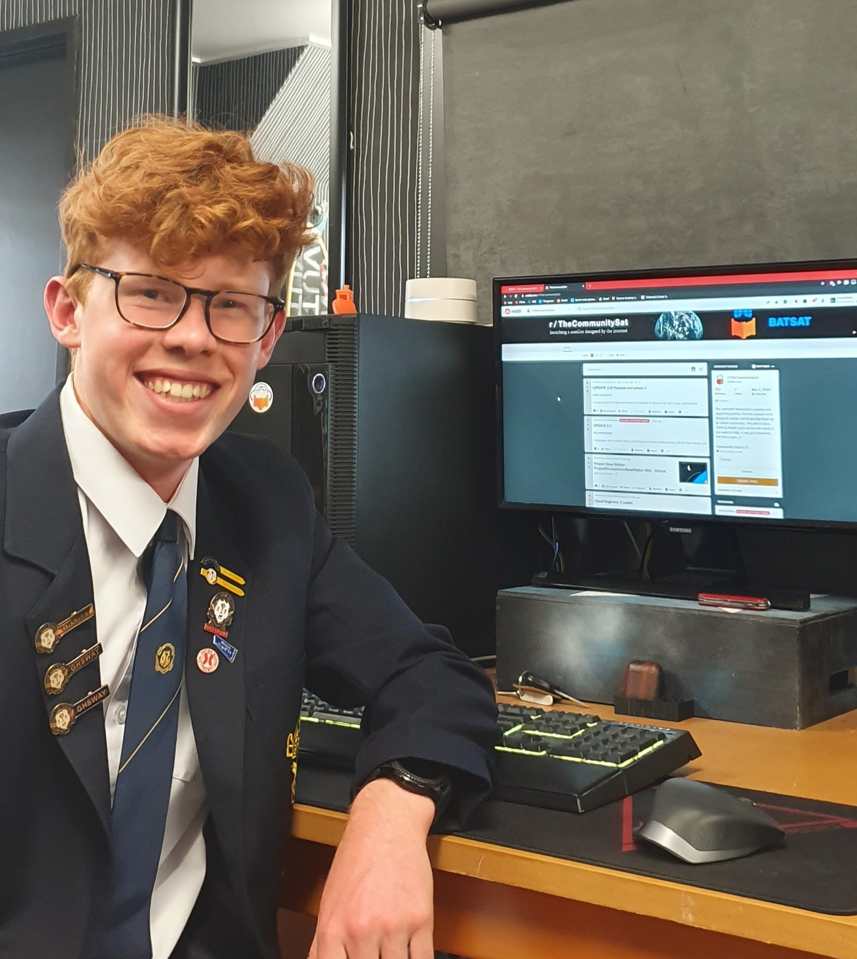 Southland student set on satellite success
