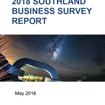 2018 Southland Business Survey - Report