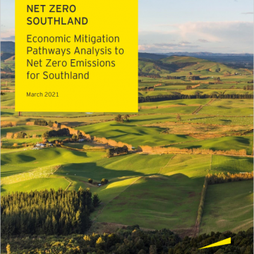 Net Zero Southland: Economic Mitigation Pathways Analysis to Net Zero Emissions for Southland