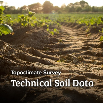 Topoclimate - Soil Technical Data Sheets