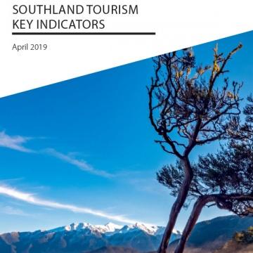 Southland Tourism Key Indicators - Apr 2019