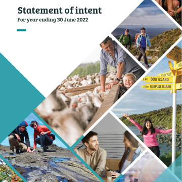 Statement of Intent for year ending 30 June 2022