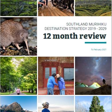 Southland Murihiku Destination Strategy 2019-2029 12 Month Review
