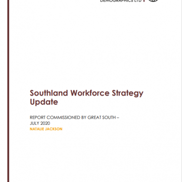 Southland Workforce Strategy Update